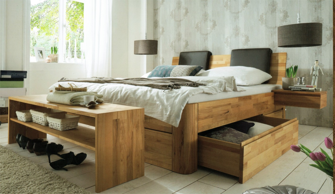 germanflexdiewohnidee naturbelassene massivholz schlafzimmer zu attraktiven preisen. Black Bedroom Furniture Sets. Home Design Ideas